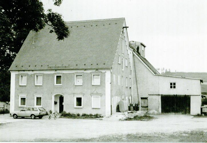 Die Bäckerei Köbler im Jahre 1989
